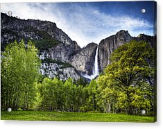 Falls Of The Valley Acrylic Print