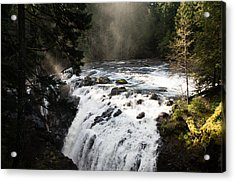 Waterfall Magic Acrylic Print
