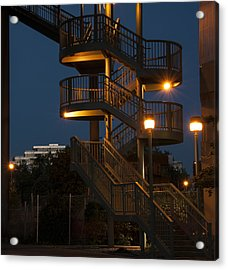 False Creek Stairway Acrylic Print