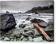 False Klamath Cove Acrylic Print