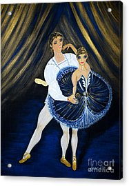 Fame And Charming Acrylic Print by Oksana Semenchenko