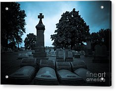 Family At Rest Acrylic Print by Amy Cicconi