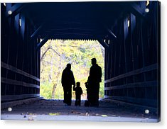 Family Time Acrylic Print by Bill Cannon