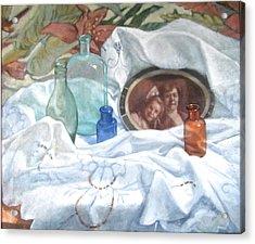 Family Treasures Acrylic Print by Janet McGrath
