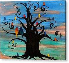 Family Tree Acrylic Print