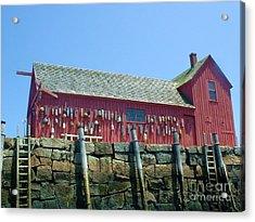 Acrylic Print featuring the photograph Famous Photographers Landmmark Rockport Ma by Mary Lou Chmura