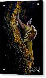 Fan Dance Acrylic Print