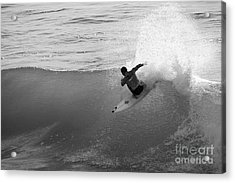 Acrylic Print featuring the photograph Fan Spray by Paul Topp