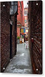 Fan Tan Alley Acrylic Print