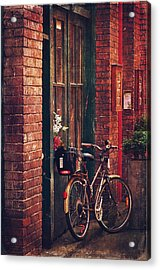 Fan Tan Alley Acrylic Print by Maria Angelica Maira