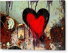 Fanatic Heart Acrylic Print by Lauren Leigh Hunter Fine Art Photography