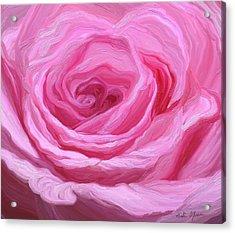 Fanciful Pink Acrylic Print