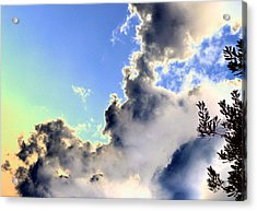 Acrylic Print featuring the photograph Fanciful Sky by Jim Whalen