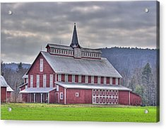Fancy Red Barn Acrylic Print