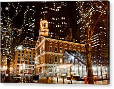 Faneuil Hall Boston Ma  Acrylic Print