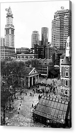 Faneuil Hall Marketplace Acrylic Print