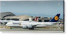 Fanhansa Boeing 747 Airliner Acrylic Print