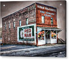 Fannin Tobacco And Candy Company Acrylic Print