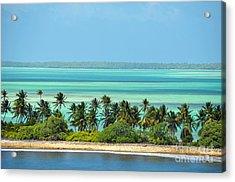 Fanning Island Acrylic Print