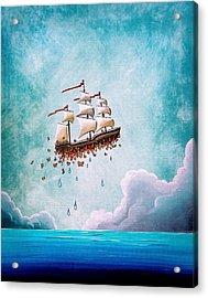 Fantastic Voyage Acrylic Print by Cindy Thornton