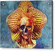 Fantastical Anatomy2 Acrylic Print by Michael Volpicelli