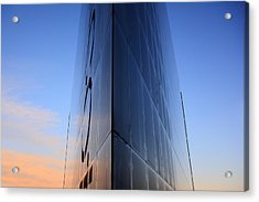 Fantasy Building In Glass Acrylic Print