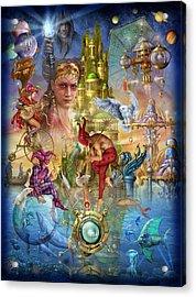 Fantasy Island Acrylic Print by Ciro Marchetti