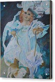 Fantasy Acrylic Print by Joyce Reid