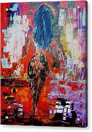 Acrylic Print featuring the painting Fantasy by Piety Dsilva