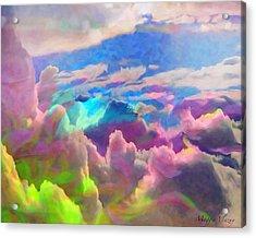 Abstract Fantasy Sky Acrylic Print