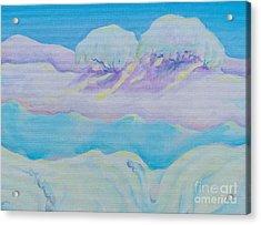 Fantasy Snowscape Acrylic Print