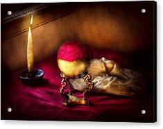 Fantasy - The Crystal Ball Acrylic Print by Mike Savad
