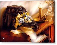 Fantasy - The Widows Bonnet  Acrylic Print by Mike Savad
