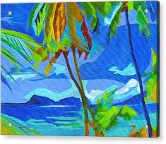 Dream Islands. Maui Acrylic Print