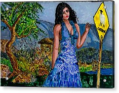 Farewell Caution Acrylic Print by Phil Strang
