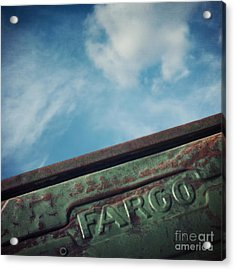 Fargo Acrylic Print by Priska Wettstein