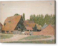 Farm Buildings, Dorchester, Oxfordshire Acrylic Print