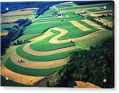 Farm Designs Pennsylvania Aerial Acrylic Print