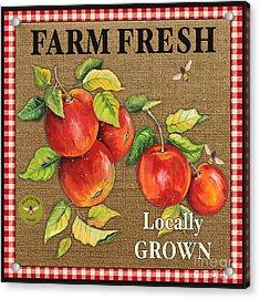Farm Fresh-jp2380 Acrylic Print by Jean Plout