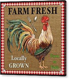 Farm Fresh-jp2382 Acrylic Print by Jean Plout