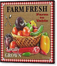 Farm Fresh-jp2385 Acrylic Print by Jean Plout