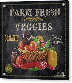 Farm Fresh-jp2637 Acrylic Print by Jean Plout