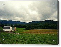 Farm In Swannanoa Nc Acrylic Print