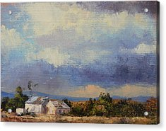 Farm In The Karoo Acrylic Print