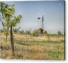 Farm Land Acrylic Print