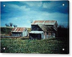 Farm Near Fenton Michigan Acrylic Print