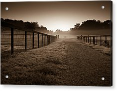 Farm Road Acrylic Print