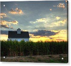 Farm-scape Acrylic Print