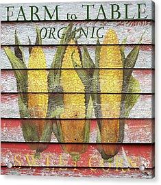 Farm To Table Acrylic Print