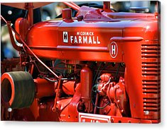 Farm Tractor 11 Acrylic Print